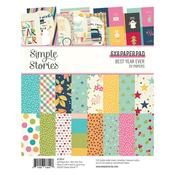 Best Year Ever 6 x 8 Paper Pad - Simple Stories - PRE ORDER