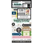 Let's Wander Sticker Book - Vicki Boutin - PRE ORDER