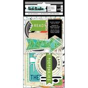 Let's Wander Vellum & Cardstock Ephemera - Vicki Boutin