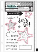 Let's Wander Stamps & Die Set - Vicki Boutin - PRE ORDER