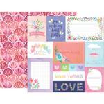 Paper 1 - Bloom Street - Pink Paislee