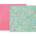 Paper 5 - Bloom Street - Pink Paislee
