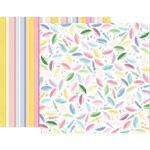 Paper 16 - Bloom Street - Pink Paislee