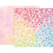 Paper 22 - Bloom Street - Pink Paislee