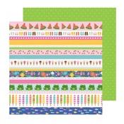 Strips Paper - Sun & Fun - Pebbles