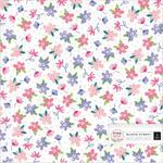 Bloom Street Acetate Foiled Sheet - Pink Paislee