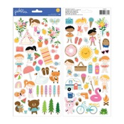 Sticker Sheet - Sun and Fun - Pebbles