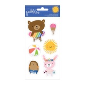 Shaker Stickers - Sun & Fun - Pebbles