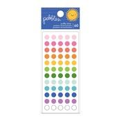 Sun & Fun Puffy Dot Stickers - Pebbles