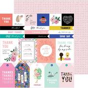 Thank You Sentiments Paper - Hey, Hello - Pebbles - PRE ORDER