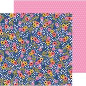 Flower Patch Paper - Hey, Hello - Pebbles - PRE ORDER