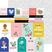 Thinking Of You Sentiments Paper - Hey, Hello - Pebbles - PRE ORDER