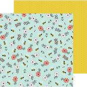 Bee Blossoms Paper - Hey, Hello - Pebbles - PRE ORDER