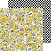 Yellow Roses Paper - Hey, Hello - Pebbles - PRE ORDER