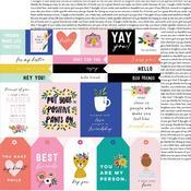 Girlfriend Sentiments Paper - Hey, Hello - Pebbles - PRE ORDER