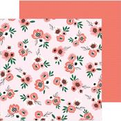 Blushing Blooms Paper - Hey, Hello - Pebbles - PRE ORDER