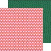 Pink Posies Paper - Hey, Hello - Pebbles - PRE ORDER