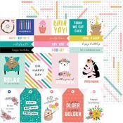 Birthday Sentiments Paper - Hey, Hello - Pebbles - PRE ORDER