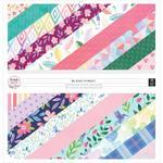 Bloom Street 12 x 12 Paper Pad - Pink Paislee