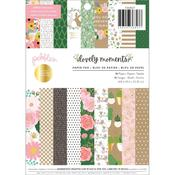 """Lovely Moments 6""""X8"""" Paper Pad - Pebbles"""