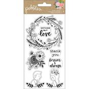 Lovely Moments Clear Stamps - Pebbles