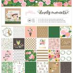 "Lovely Moments 12""X12"" Paper Pad - Pebbles"