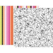 Paper 8 - 5th & Monaco - Pink Paislee