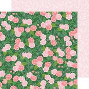 Botanical Rose Paper - Lovely Moments - Pebbles