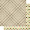 #6 Spring Plaid Paper - Cottontail - Authentique