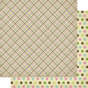 #6 Spring Plaid Paper - Cottontail - Authentique