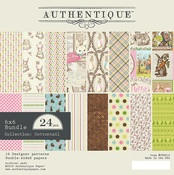 """Paper Pad 6""""X6"""" - Cottontail - Authentique"""
