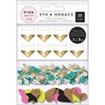 5th & Monaco Mixed Embellishments - Pink Paislee