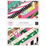 5th & Monaco 6 x 8 Paper Pad - Pink Paislee