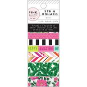 5th & Monaco Washi Tape - Pink Paislee