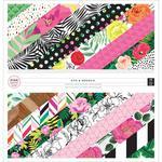 5th & Monaco 12 x 12 Paper Pad - Pink Paislee