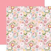 All Girl Floral Paper - All Girl - Echo Park