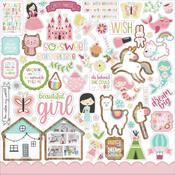 All Girl Elements Stickers - Echo Park