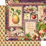 Fruit & Flora Paper - Graphic 45 - PRE ORDER