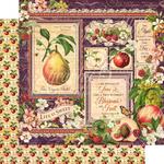 Fruit & Flora Paper - Graphic 45 - PRE ORDER