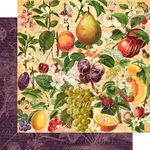 Nature's Bounty Paper - Fruit & Flora - Graphic 45 - PRE ORDER