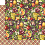 Abundant Harvest Paper - Fruit & Flora - Graphic 45