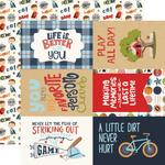 """Journaling 4""""X6"""" Cards Paper - All Boy - Echo Park - PRE ORDER"""