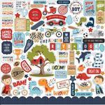 All Boy Elements Stickers -  Echo Park - PRE ORDER