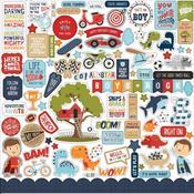All Boy Elements Stickers -  Echo Park