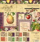 Fruit & Flora 8x8 Pad - Graphic 45 - PRE ORDER