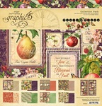 Fruit & Flora 12x12 Collection Pack - Graphic 45 - PRE ORDER