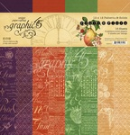 Fruit & Flora Patterns & Solids Pad - Graphic 45 - PRE ORDER