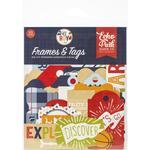 All Boy Frames & Tags Ephemera - Echo Park - PRE ORDER