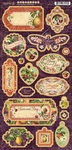 Fruit & Flora Chipboard - Graphic 45