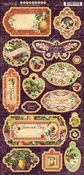 Fruit & Flora Chipboard - Graphic 45 - PRE ORDER
